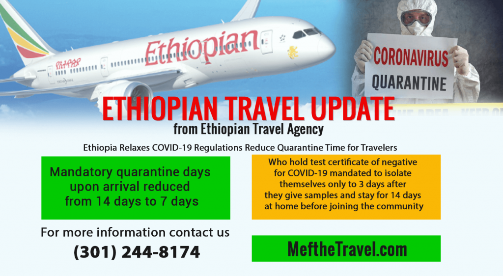 Ethiopia Travel update covid Mefthe Travel